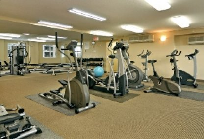 Gym at the Discovery Pointe Condos