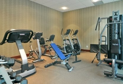Gym at the Emerald Stone Condos