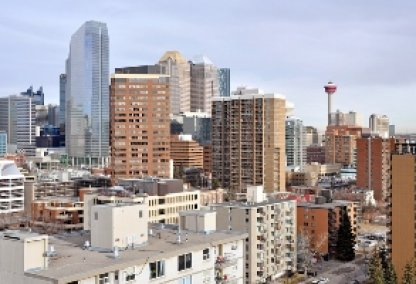 View of Calgary from The Emerald Stone