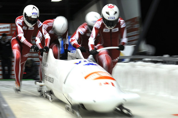 Team Canada at Bobsleigh - Image Credit: https://www.flickr.com/photos/acglab/5216158925