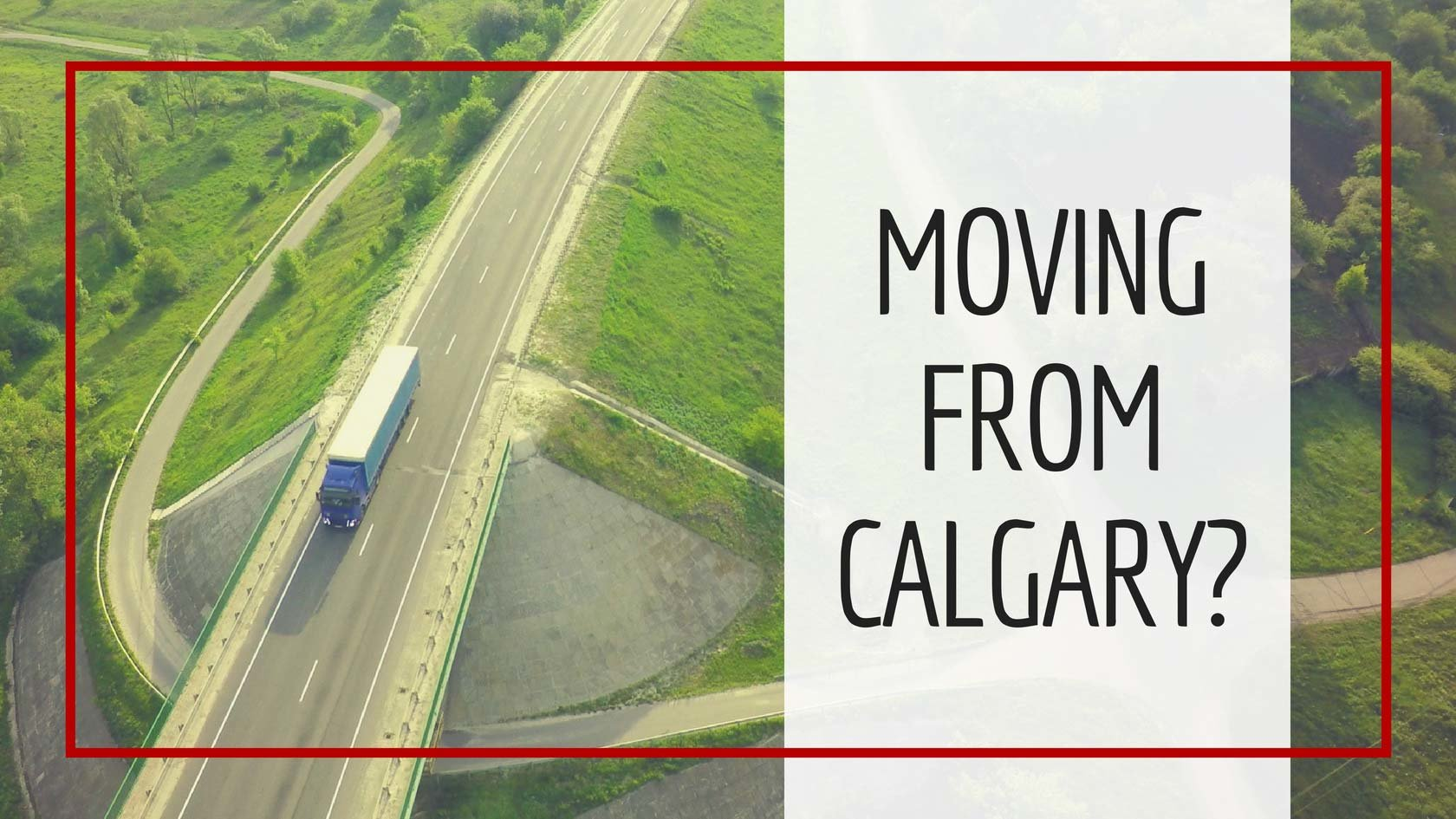 Moving Away From Calgary