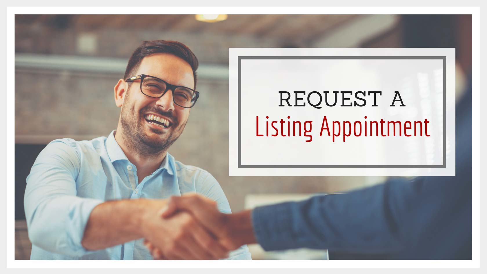 Request a Listing Appointment