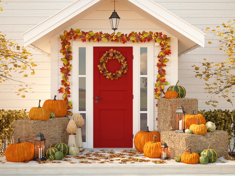 How to do curb appeal in Fall