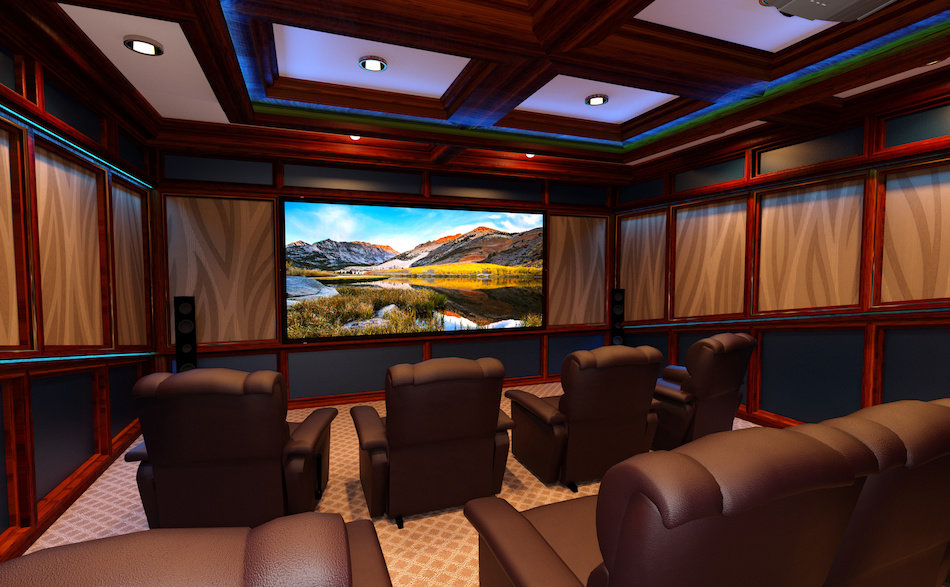 Interior Design Tips Home Theatre Decorating Ideas